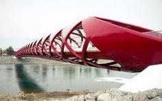Santiago Calatrava-Calgary Peace Bridge
