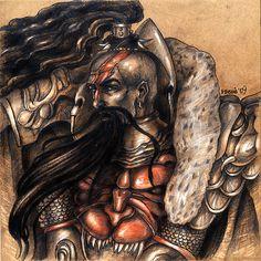 V Legion - Jaghatai Khan by Noldofinve
