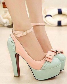Sapato estilo vintage.