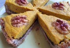 Fotorecept: Hokkaido koláč z orechovo-vločkového cesta