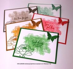 Simple handmade cards using the You've Got This Stamp Set and the 2015-2017 In Color Collection from Stampin' Up!
