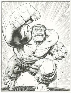 The Hulk By Art Adams