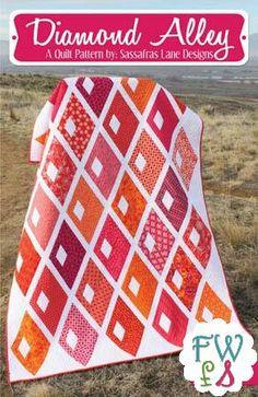 DIAMOND ALLEY Quilt Pattern Sassafras Lane Designs
