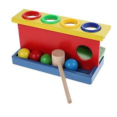 Awakingdemi Wooden Ball Hammer Toy Box Punch and Drop Children Early Learning Educational Toys review - http://www.bestseller.ws/blog/toys-and-games/awakingdemi-wooden-ball-hammer-toy-box-punch-and-drop-children-early-learning-educational-toys-review/