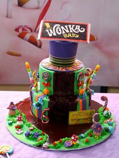 Wonka Cake