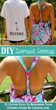 33 Clever Ways To Refashion Your Clothes UMMM YES PLEASE summer tho