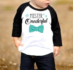 Mister Onederful Birthday Shirt | Mr. Wonderful first birthday theme