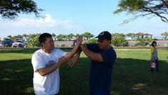 Mun Fong visits Pacific Wing Chun Kung Fu Association.
