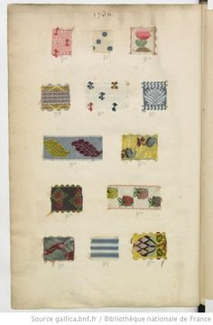 [Echantillons de rubans] : [échantillons de tissus] - 1736
