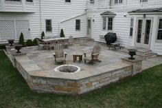 Small backyard ideas with pavers stone backyard ideas small backyard stone patio ideas backyard stone patio . small backyard ideas with pavers patio Paver Stone Patio, Stone Backyard, Bluestone Patio, Backyard Fireplace, Small Backyard Patio, Backyard Patio Designs, Back Patio, Patio Ideas, Stone Patios
