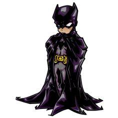 """Because Batman 2.5""""x4.5"""" sticker"""