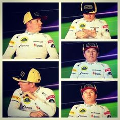 """Kimi, would you just focus?   """"LEAVE ME ALONE.""""   Ok. :/ (Shanghai 2013)"""