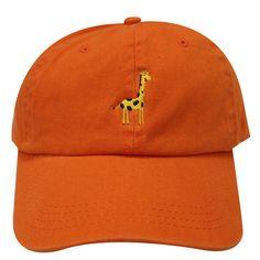 a60a397233f Capsule Design Shiba Dog Side Face Embroidered Baseball Dad Cap Orange