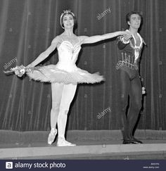 Ballet, Swan Lake, Chaikovski Stock Photo