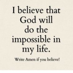 Amen!!!!!! I believe!!!