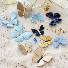 Thanks to HP® for sponsoring this article. These magical paper butterflies look like they just might take flight.