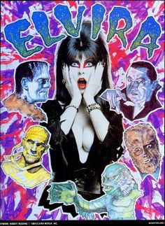 Elvira w/ Uni Monsters
