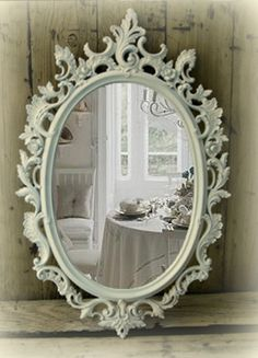 shabby chic bathroom mirror - Google Search