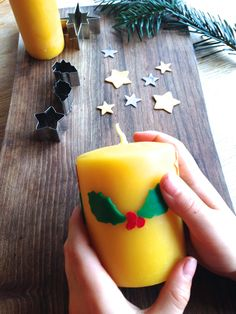 Beeswax Candle Decorating, easy and fun gift to make with kids – Conscious Craft