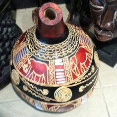 South African Gourd Art