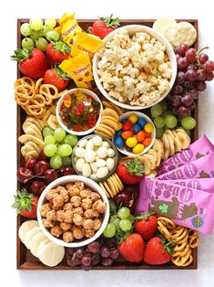 This Popcorn Movie Platter is the perfect board of snacks and treats whilst watching a movie. For ki - This Popcorn Movie Platter is the perfect board of snacks and treats whilst watching a movie. Platter Board, Snack Platter, Party Food Platters, Snack Trays, Dessert Platter, Platter Ideas, Charcuterie And Cheese Board, Charcuterie Platter, Cheese Boards