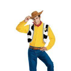 Morris Costumes Halloween Woody Costume kit adult