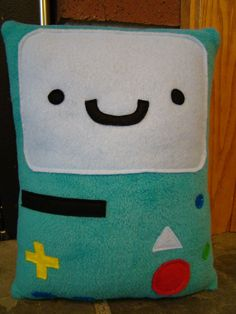 Adventure Time inspired pillows by telahmarie, $30.00