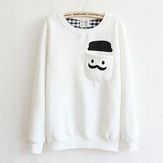 New+Fashion+Mulheres+Hoodies+Nova+Seção+inverno+mais+grosso+velo+simples+camisolas+camisola+das+mulheres+–+EUR+€+16.65