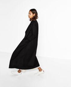 LONG WOOL COAT Z Zara