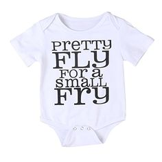 Newborn Baby Boy Girl Short Sleeve Letters Print Summer Romper Jumpsuit 09 Months White * For more information, visit image link.Note:It is affiliate link to Amazon.