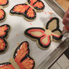 """826 Likes, 13 Comments - Jill FCS (@jillfcs) on Instagram: """"Butterflies, sure sign of spring! Inspired by @chapixcookies adorable creations. #funkycookiestudio…"""""""