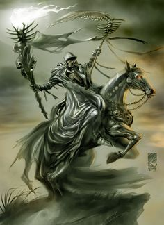 Death, The Grim Rider by *scarypet on deviantART