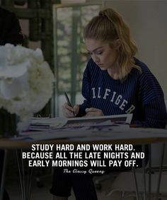 Comment & # AGREE & # and two lucky winners will receive a free story shoutout … ___________________ – Success quotes – Life quotes – Dreams – Goals … Inspirational Quotes For Students, Inspirational Quotes About Success, Success Quotes, Positive Quotes, Study Hard Quotes, Study Motivation Quotes, Quotes About Attitude, Babe Quotes, Woman Quotes