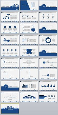 28+ Best Blue Business PowerPoint Template | The highest quality PowerPoint Templates and Keynote Templates download