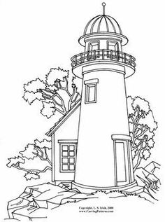 Lighthouse Coloring Pages Coloring pages wallpaper Coloring