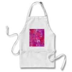 Funky Purple Pink Concentric Circles Girly Pattern Apron SOLD on Zazzle