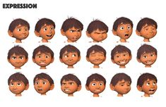 Drawing faces cartoon facial expressions concept art New ideas Character Poses, Character Modeling, Character Concept, Character Art, Concept Art, Character Sheet, Disney Expressions, Drawing Expressions, Facial Expressions