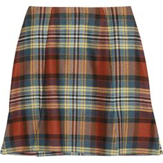 Vivienne Westwood Anglomania Rocket tartan mini skirt (305 BRL) ❤ liked on Polyvore featuring skirts, mini skirts, bottoms, faldas, saias, claret, multi colored skirt, short skirts, plaid miniskirt and colorful skirts