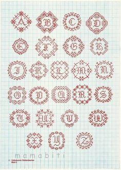 Points de croix *@* monochrome idéal pour casier d'imprimeur
