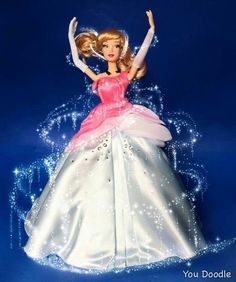 Disney Baby Dolls, Disney Princess Dolls, Cinderella Disney, Walt Disney Pictures Movies, Disney Furniture, Disney Princesses And Princes, Disney Animator Doll, Disney Figurines, Princesa Disney