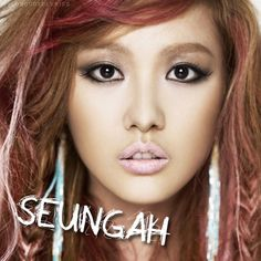 Seungah (aka: Seunga) is a Korean singer. She is a vocalist for the Korean pop group Sunny Hill and one of its three original members.
