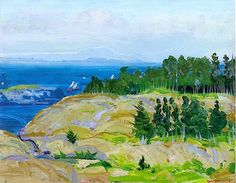 Green Point by George Wesley Bellows (USA)