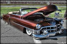 I love the name of this car! Follow me on facebook:) www.facebook.com/PhotosByVic Cadillac, Impression Poster, Convertible, Cars Usa, Old School Cars, Modified Cars, American Muscle Cars, Root Beer, Amazing Cars