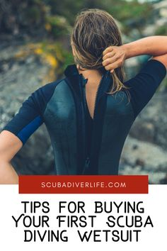 A good wetsuit can make the difference between a great dive and calling a dive because of cold. Here are some tips on buying your first scuba diving wetsuit. #scubadiving #wetsuit #scubadivingwetsuit #wetsuitsformen #wetsuitsforwomen #diving