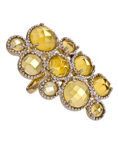 """Andara """"Champagne Bubbles"""" ring"""