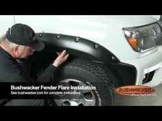 Bushwacker 2012 Toyota Tacoma Pocket Style Fender Flares 31927-02, 31928-02 Installation Video