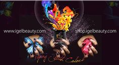 Branding and shop online web site for IGel product. www.igelbeauty.com