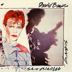 David Bowie - Scary Monsters (And Super Creeps) (1980) - a combination of Brian Duffy's photographs and a painting by Edward Bell