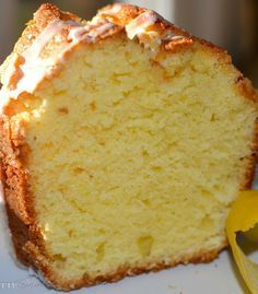 Pound Cake A Southern Soul: Lemon Pound Cake Made this on dec. tasted just like my granny's pound cake, just gotta perfect the glaze.A Southern Soul: Lemon Pound Cake Made this on dec. tasted just like my granny's pound cake, just gotta perfect the glaze. Lemon Desserts, Lemon Recipes, Just Desserts, Baking Recipes, Dessert Recipes, Easy Recipes, Cakes Plus, Pound Cake Recipes, Pound Cakes