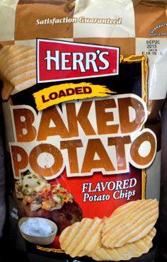 Herr's Loaded  Baked Potato  Chips